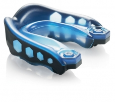 "6100 ""Gel Max"" Shock Doctor dantų apsauga, juoda/mėlyna"
