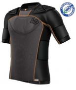 SHOCKSKIN™ 7-PAD RUGBY SHOULDER PAD SHIRT