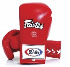 Fairtex Varžybinės bokso pirštinės, raudonos