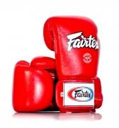 Fairtex Treniruočių bokso pirštinės, raudonos