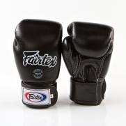 Fairtex Treniruočių bokso pirštinės, juodos